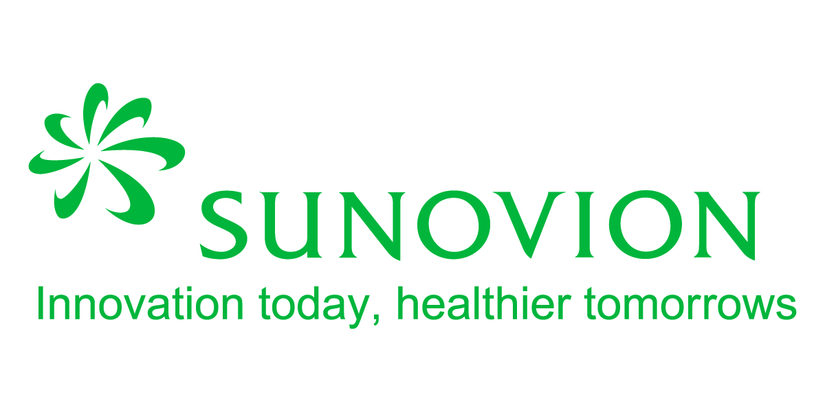 Sunovion logo with new tagline - New York Pharma Forum
